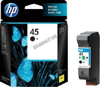 Mực in phun máy vẽ sơ đồ chính hãng HP ( HP45-Black - 51645A )